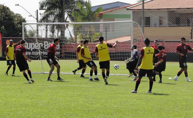 Jogadores do Atlético-GO fizeram treino na manhã deste sábado (Foto: Divulgação/Atletico-GO)