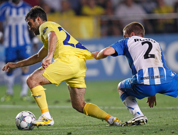 rossi Villarreal x OB (Foto: AP)