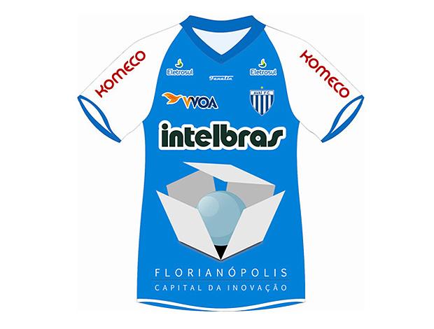 camisa avaí homenagem cidade florianópolis (Foto: Divulgação Site Oficial do Avaí)