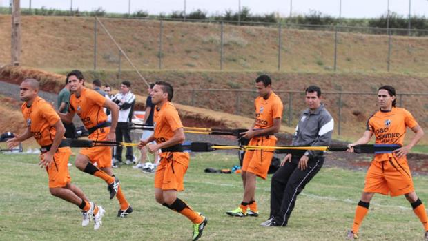 Ceará treinando em Ribeirão Preto-SP (Foto: Divulgação / Ceará)