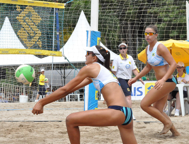 vôlei de praia - Rebecca e Carol Horta (Foto: Divulgação)