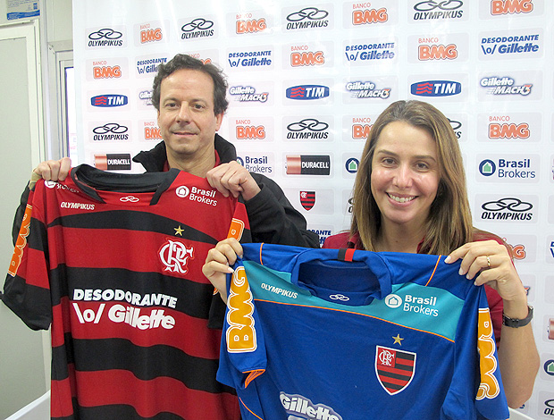 sergio freire Brasil Brokers patricia amorim flamengo patrocnio (Foto: Richard Souza / Globoesporte.com)