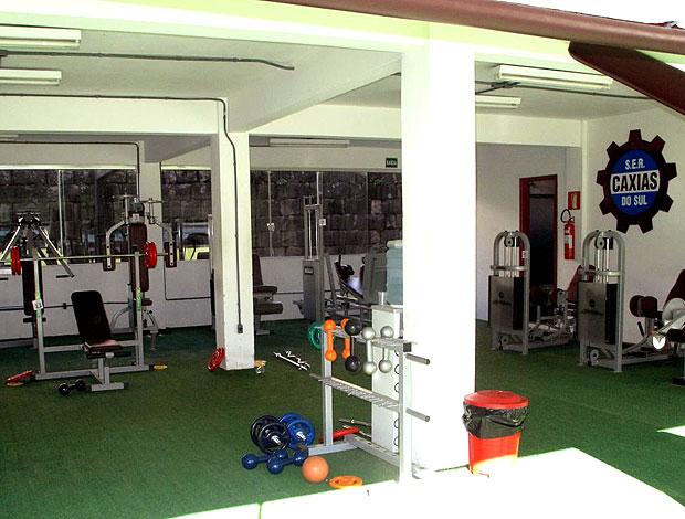 academia do Caxias  (Foto: Cahê Mota / GLOBOESPORTE.COM)