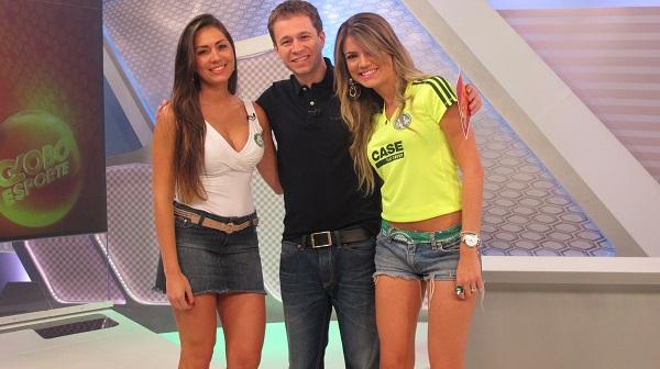 Musas Palmeiras (Foto: Julyana Travaglia)