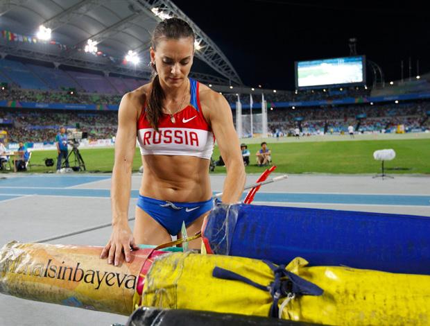 Mundial de Atletismo -  isinbayeva decepcionada (Foto: Reuters)