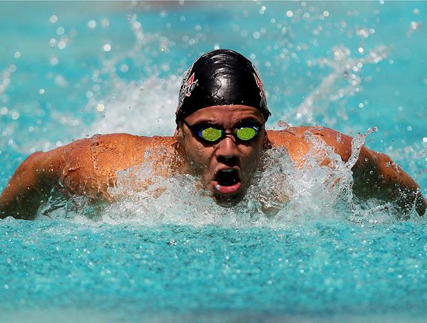 thiago pereira natação troféu josé finkel (Foto: Satiro Sodré / AGIF)