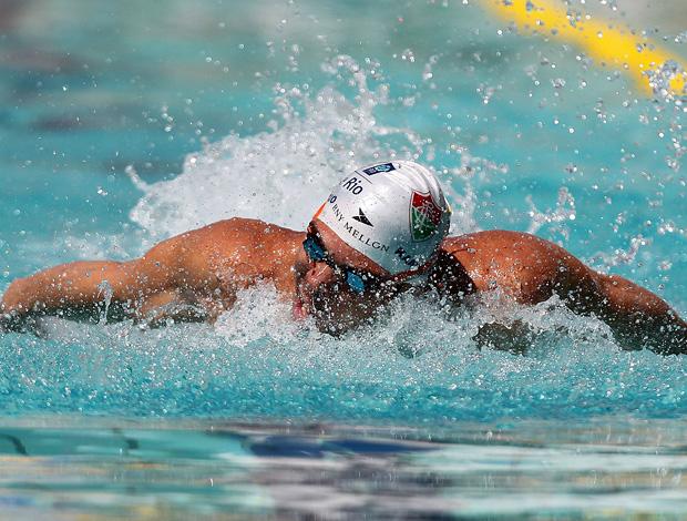 Kaio márcio natação troféu josé finkel (Foto: Satiro Sodré / AGIF)