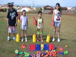 1ª escolinha pública de golfe do Brasil (Foto: Divulgação (Semel))