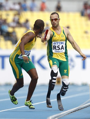 Oscar Pistorius, Mundial de Daegu (Foto: EFE)