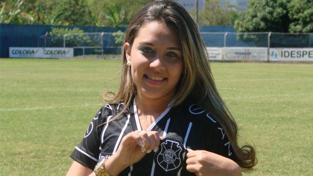 Suzana Rosseto, musa do Rio Branco-ES (Foto: Igor Gonçalves/Globoesporte.com)