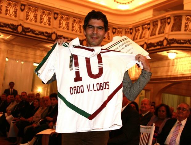 Dado villa lobos recebe homenagem do Fluminense (Foto: Foto: Alexandre Durão / Globoesporte.com)