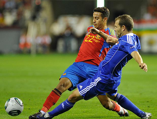 Thiago Alcantara Espanha (Foto: Getty Images)