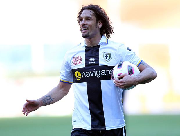 Amauri pelo Parma (Foto: Getty Images)
