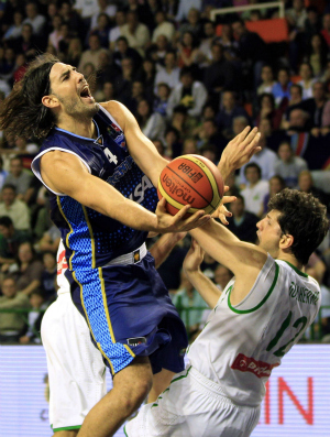 basquete scola giovannoni brasil x argentina (Foto: AP)