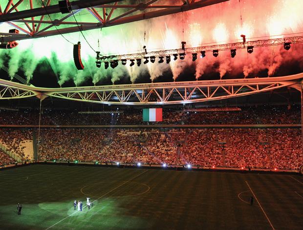 Inauguracao estadio Juventus (Foto: Getty Images)