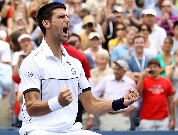 Novak Djokovic tênis US Open semifinais (Foto: AP)