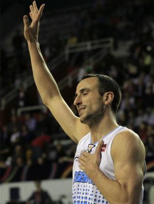 basquete Ginobili copa américa (Foto: AP)