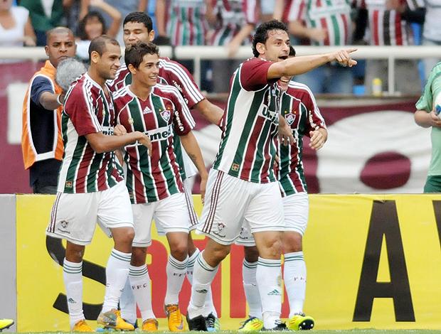 Fred gol Fluminense (Foto: Photocâmera)