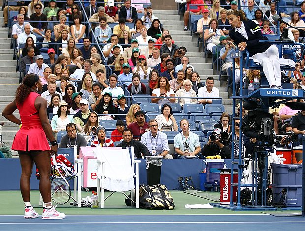 Serena Williams tênis US Open final (Foto: Getty Images)