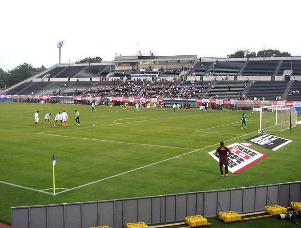 Estádio Mitsuzawm, em Yokohama (Foto: Reprodução)
