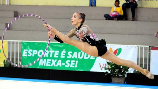 Emanuelle Lima, ginasta capixaba (Foto: Arquivo/A Gazeta)