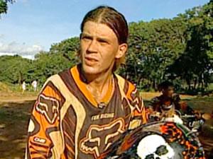caniggia piloto motocross mato grosso (Foto: Reprodução/TVCA)