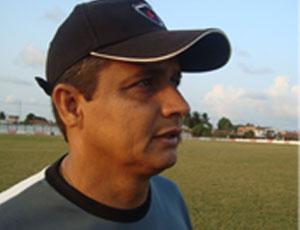 Reginaldo Sousa no treino do Botafogo-PB (Foto: Kako Marques)