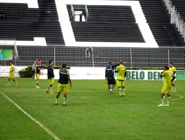 jogadores treino vasco  (Foto: Fred Huber / Globoesporte.com)