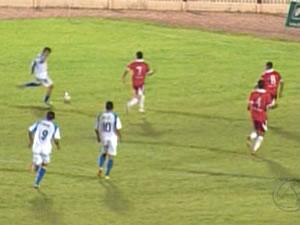 União e Vila Aurora na Copa Mato Grosso (Foto: Reprodução/TVCA)
