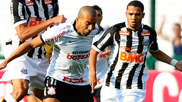 Emerson sheik, Corinthians, Santos (Foto: Marcos Ribolli/Globoesporte.com)