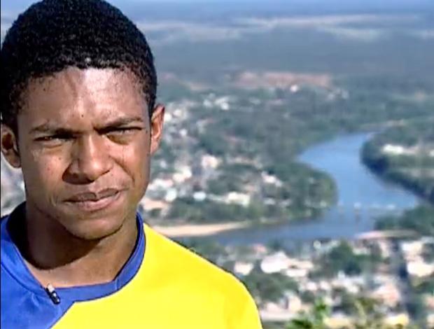 FRAME - Olímpiadas Escolares: projeto do interior do Mato Grosso revela talentos no atletismo (Foto: TV Globo)
