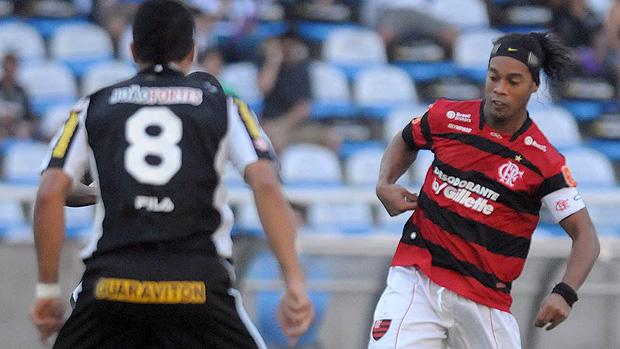 Ronaldinho, Flamengo x Botafogo (Foto: Nina Lima/Vipcomm)