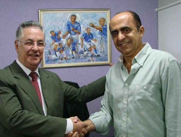Alberto Rodrigues e Antônio Claret unem as chapas (Foto: Divulgação / Twitter)