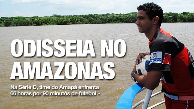 chamada carrossel trem rio amazonas (Foto: Cahê Mota/Globoesporte.com)