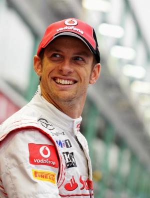Jenson Button no paddock em Cingapura (Foto: Getty Images)