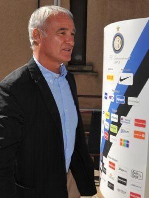 Claudio Ranieri no Inter de Milão (Foto: Divulgação)
