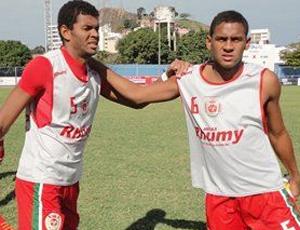 Danilo Freire e Diego Santos, zagueiro e volante do Real Noroeste (Foto: Divlugação/Real Noroeste FC)