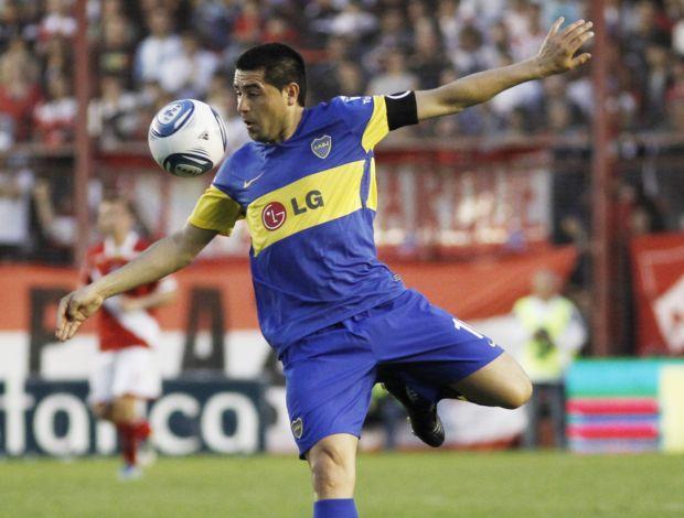 Riquelme Boca Juniors Argentinos Juniors (Foto: EFE)