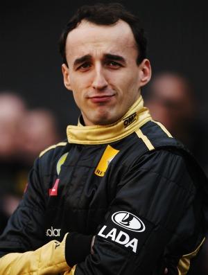 Robert Kubica pode retornar à Renault-Lotus em 2012 (Foto: Getty Images)
