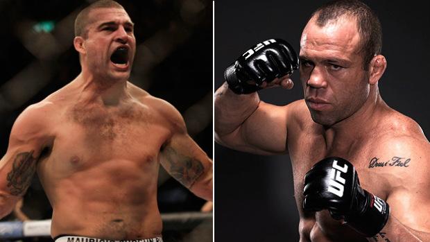 Maurício Shogun Wanderlei Silva UFC (Foto: Montagem/SporTV)