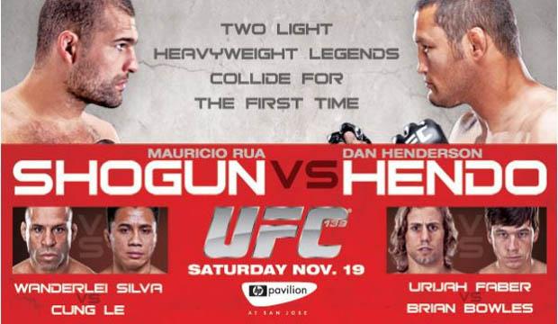 Pôster do UFC 139 (Foto: Reprodução/Twitter)