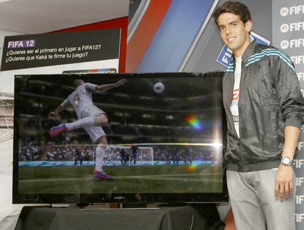 Kaka no lançamento do FIFA 12 (Foto: EFE)