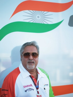 Vijay Mallya, chefe da Force India (Foto: Getty Images)