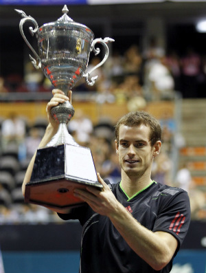 Andy Murray é campeão no ATP 250 de Bangcoc (Foto: agência EFE)