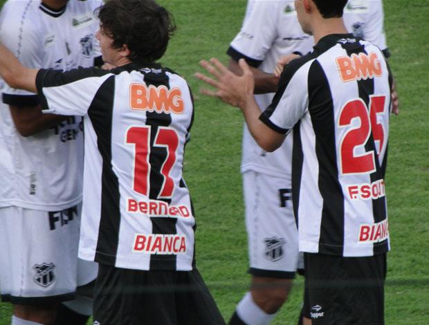 Jogadores do Atlético-MG homenageam Renan Ribeiro (Foto: Marco Antônio Astoni / Globoesporte.com)