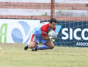 Juninho, goleiro do Vilavelhense (Foto: Leonardo Gurgel/Vilavelhense FC)