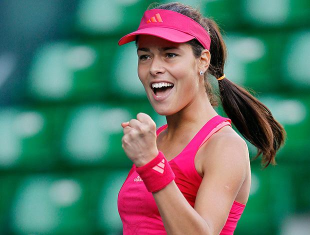 tênis Ana Ivanovic WTA do Japão (Foto: AP)