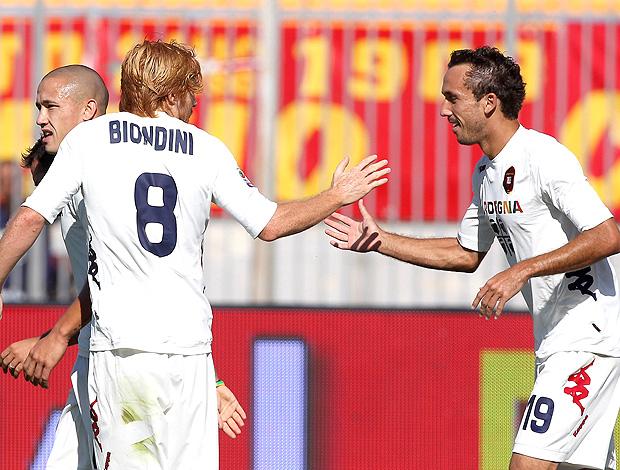 Thiago Ribeiro gol Cagliari (Foto: Getty Images)