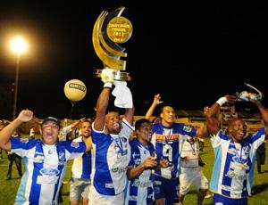 São Mateus, campeão capixaba 2011 (Foto: Arquivo/Cedoc/A Gazeta)