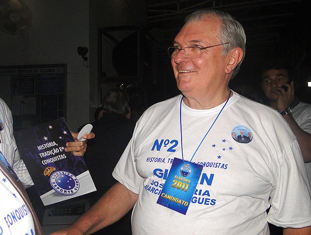 Gilvan de Pinho Tavares eleições Cruzeiro (Foto: Fernando Martins / Globoesporte.com)
